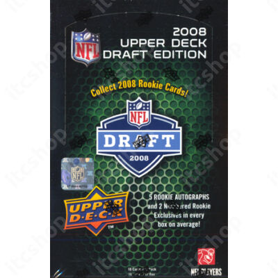 2008 Upper Deck NFL Draft Edition Football Hobby doboz