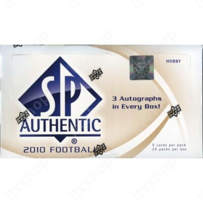 2010 Upper Deck SP Authentic Football Hobby doboz