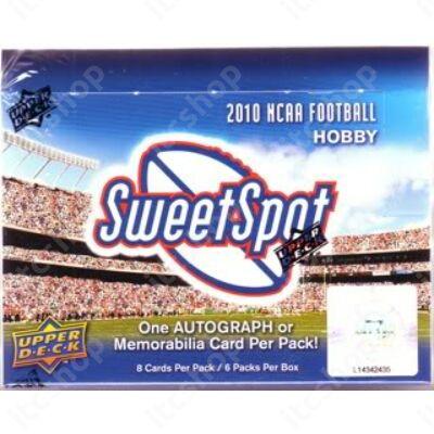 2011 Upper Deck NCAA Sweet Spot Football Hobby doboz