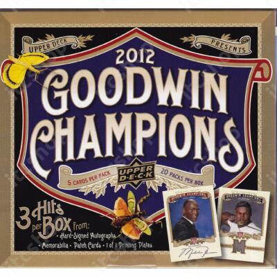 2012 Upper Deck Goodwin Champions Hobby doboz