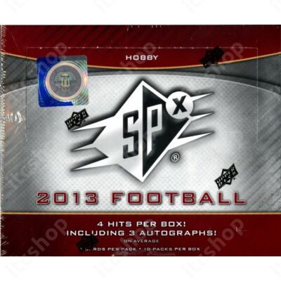 2013 Upper Deck SPx Football Hobby doboz
