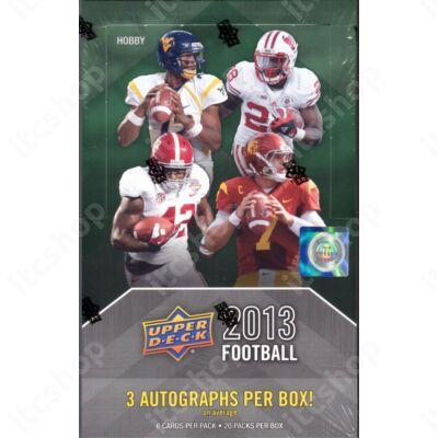 2013 Upper Deck Football Hobby doboz
