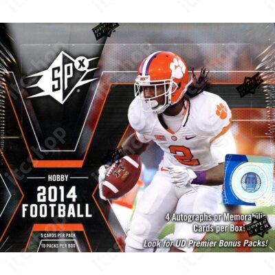 2014 Upper Deck SPx Football Hobby doboz