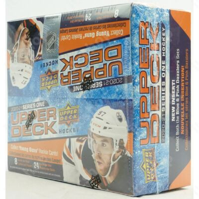 2020-21 Upper Deck Series 1 Hockey Retail doboz