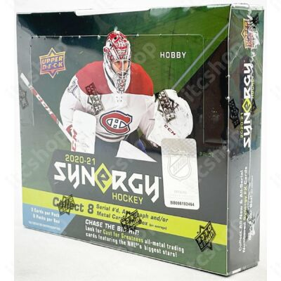 2020-21 Upper Deck Synergy Hockey Hobby doboz