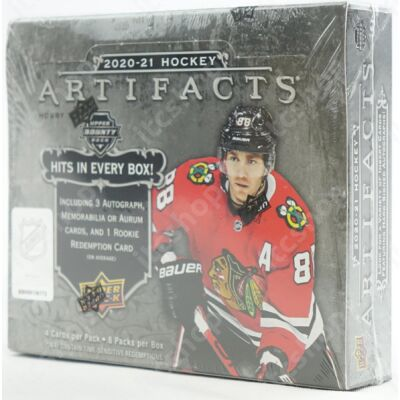 2020-21 Upper Deck Artifacts Hockey Hobby doboz