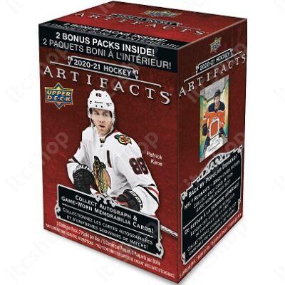 2020-21 Upper Deck Artifacts Hockey Blaster doboz