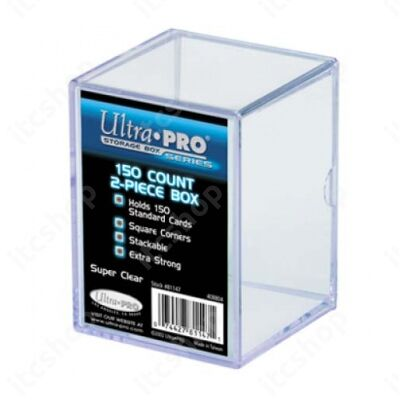 Ultra Pro tároló doboz 150db kártya számára - Átlátszó