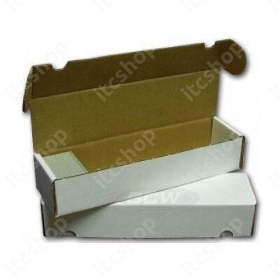 BCW kártyatároló doboz, 930db kártya számára