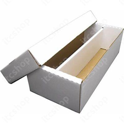 BCW kártyatároló doboz toploaderek számára