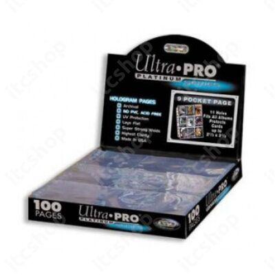 Ultra Pro Platinum 9 zsebes, 11 lyukas (100 lap)
