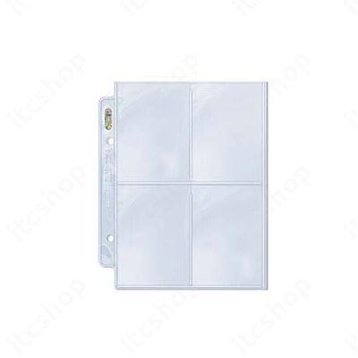 Ultra Pro Platinum 4 zsebes 2 lyukas Mini albumhoz (100 lap)