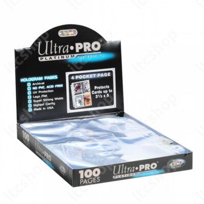 Ultra Pro Platinum 4 zsebes (100 lap)
