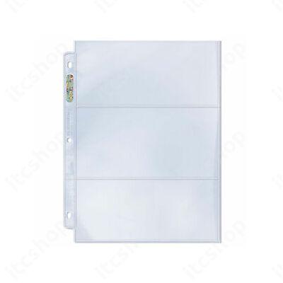 Ultra Pro Platinum 3 zsebes Widevision lap (Bookletekhez)