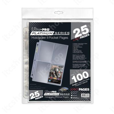 Ultra Pro Platinum 4 zsebes (25 lap)
