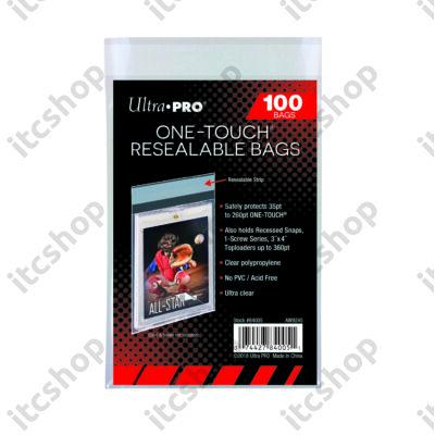 Ultra Pro One Touch visszazárható védőtasak mágneses tokhoz (10db)