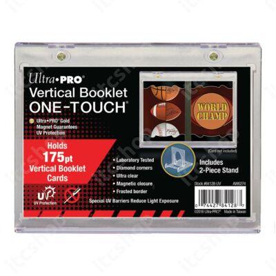 Ultra Pro One Touch Booklet vertikális mágneses tok 175pt