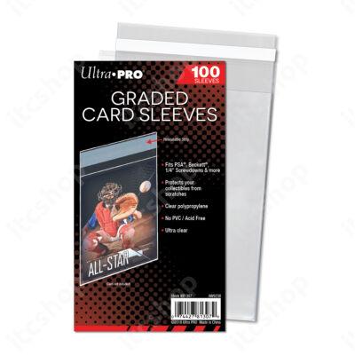 Ultra Pro visszazárható védőtasak bevizsgált kártyákhoz (PSA, Beckett) - 100db/csomag