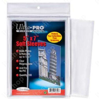 """Ultra Pro puha védőtok 5""""X7"""" Box Topper kártyákhoz (1db)"""