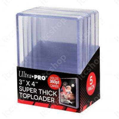 Ultra Pro kemény védőtok toploader 360pt (5db)