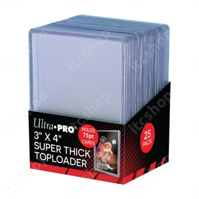 Ultra Pro kemény védőtok toploader 75pt (25db)
