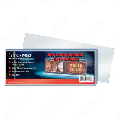 """Ultra Pro Horizontális Booklet védőtok """"bugyi"""" (10db)"""