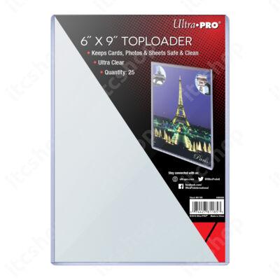 "Ultra Pro kemény védőtok toploader 6""x9"" (1db)"