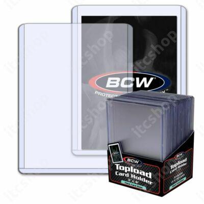BCW toploader 79pt vastag