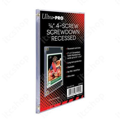 Ultra Pro Screwdown csavaros tok
