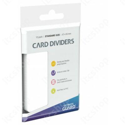 Ultimate Guard kártyaelválasztó (10db) - Fehér