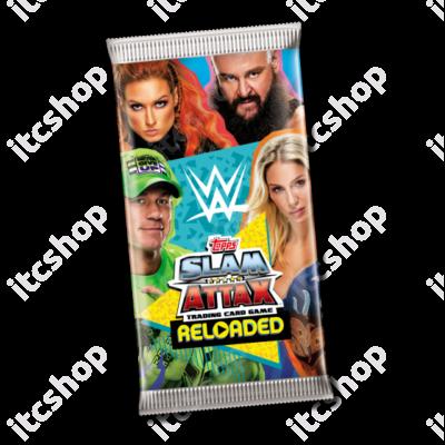 2020 Topps WWE Slam Attax Reloaded Display csomag - Német kiadás