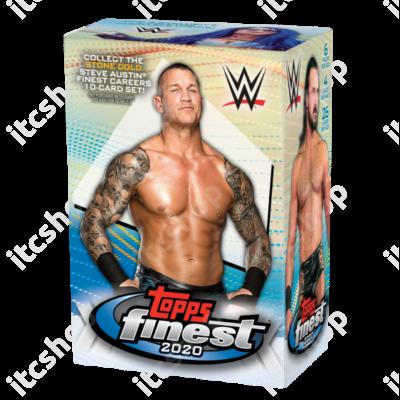 2020 Topps Finest WWE Blaster doboz