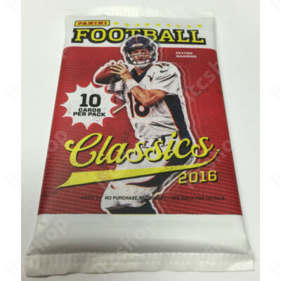 2016 Panini Classics Football retail csomag